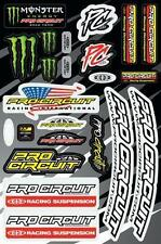 Pro Circuit Deluxe Sticker Kit DC14DLX