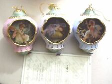 Dream Weaver, Frog Prince & Fairy Magic Porcelain Orn. Bradford- New