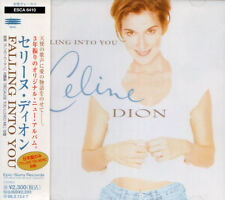CELINE DION Falling Into You +1 FIRST JAPAN CD OBI ESCA 6410