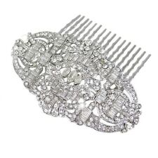 Gatsby Swarovski Hair Comb by Bella Krystal bridal piece crystal