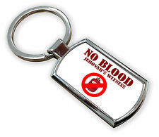 New No Blood Jehovah Witnesse Metal Keyring HD With Gift Box 1ST CLASS POST