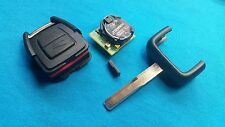 VAUXHALL ASTRA VECTRA OMEGA ZAFIRA  REMOTE KEY FOB WITH BLANK CHIP HU43 BLADE