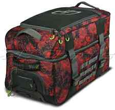 Planet Eclipse GX Split Compact Bag Fire Paintball Gearbag Black Red Roller Bag