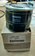 "KIOTI, BOBCAT CT SERIES TRACTOR ENGINE OIL FILTER E6201-32443  ""FREE SHIPPING"""