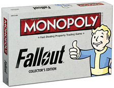 Fallout® Collector's Edition MONOPOLY® New 2016 8+ Boys Girls Usaopoly
