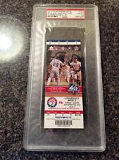 PSA 10 MIKE TROUT YOUNGEST PLAYER TO HIT 30 HR 30/30 CLUB LA  Angels Ticket