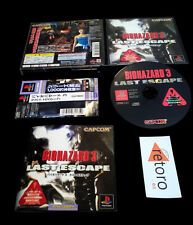 BIOHAZARD 3 LAST ESCAPE PLAYSTATION Psx Resident Evil JAP Completo Buen Estado