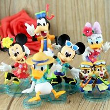 Mickey Minnie Mouse Donald Daisy Duck Goofy Chip Dale Action Figures Kids Toy