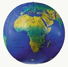 "12"" EARTH BALL GLOBE-INFLATABLE WORLD GLOBE/ BALL Globe"