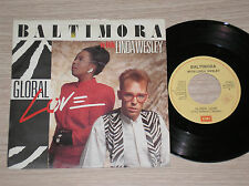 "BALTIMORA with LINDA WESLEY - GLOBAL LOVE / SET ME FREE - 45 GIRI 7"" ITALY"