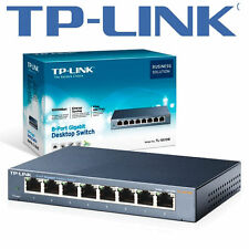 TP-Link TL-SG108E 8 Ports - 10/100/1000 RJ45 Easy Smart Managed Switch Gigabit