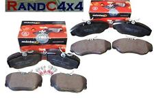 Land Rover Discovery 2 TD5 Front & Rear Brake Pad Kit MINTEX SFP500150/130