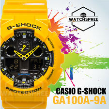 Casio G-Shock Bold Face. Tough Body. Series Watch GA100A-9A