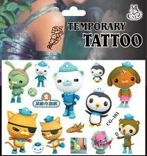 My Octonauts Temporary Tattoos for kids