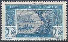 COLONIE COTE D'IVOIRE N°82 - OBLITÉRATION CACHET A DATE - COTE 11€