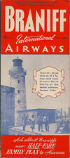 Braniff International Airways system timetable 9/1/50 [6021]
