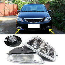 For Honda City 2006-2008 Replacement Front Bumper Fog Light Lamp ABS Cover
