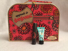 """Benefit Ltd Ed """"Upgrade to Gorgeous"""" Case + Porefessional & They're Real SAMPLES"""