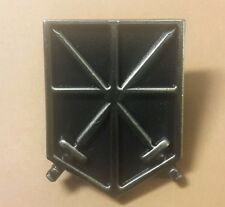 Attack on Titan metal Trainees Squad pin antique brass color