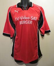 VINTAGE PUMA anni'90 MAGLIETTA da calcio retrò SOCCER JERSEY TRIKOT MAGLIA CAMISA skjorte XL
