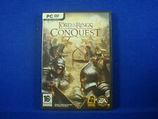 pc LORD OF THE RINGS CONQUEST Choose to Play as Good or Evil! PC DVD-ROM Game