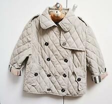 Burberry Girl's Jacket Coat Trench Padded 12 Years L Large Big Check Lined