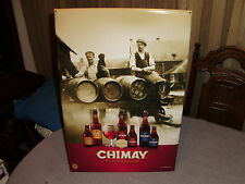 CHIMAY PERES TRAPPIST BEER SIGN BREWED BY MONKS AT TRAPPIST ABBEY OF CHIMAY NEW