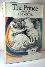 RARE 1972 FIRST EDITION THE PRINCE TINIEBLAS TRILOGY R.M. KOSTER w/ DUST JACKET