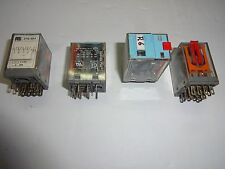 LOT OF 4 RS RELECO 376-464 4PDT PCB MOUNT NON LATCHING RELAY 115 VAC, 3 AMP