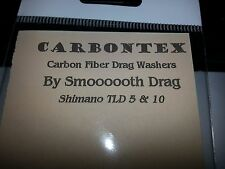1 Set Carbontex Drag Washers Fits Shimano Triton Lever Drag TLD 5 and TLD 10