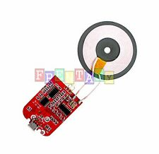 Qi Wireless Charger PCBA Circuit Board With Coil Charging Pad for DIY Arduino