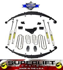"2000-2005 Ford Excursion Gas Diesel 5"" SuperLift Suspension Lift Kit 4X4 m/USA!"