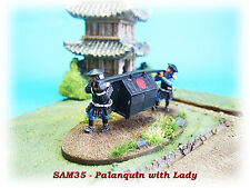 SAM35 - Palanquin with Lady and 2 Retainers