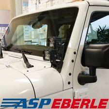 Halter für Scheinwerfer am Scheibenrahmen double LED Jeep Wrangler JK 07-16