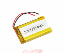 One 553048 3.7V 900mAh LiPo Battery Replace for Phone MP4 GPS  inside cell