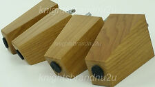 REPLACEMENT WOODEN BLOCK FURNITURE LEGS FOR SOFAS SETTEES CHAIRS & FOOTSTOOLS M8