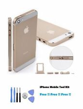 Nouveau iphone 5 couleur or replacement housing back cover case + outil gratuit kit