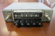 Blaupunkt Hamburg 7637300 AM Radio For Porsche, Mercedes, BMW - Tested OK