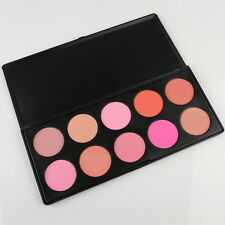 Beauty Yourself 10 Colors Cosmetic Blush Palette Soft Powder Blusher Pink Peach