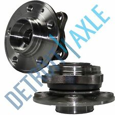 Pair NEW Front Driver and Passenger Complete Wheel Hub and Bearing Assembly Set