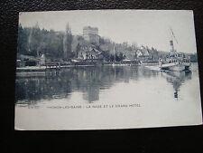 FRANCE - carte postale thonon-les-bains (la rade) (cy68) french