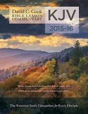 David C. Cook's KJV Bible Lesson Commentary 2015-16: The Essential Study Compani