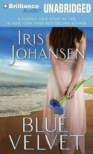 BLUE VELVET unabridged audio book on CD by IRIS JOHANSEN