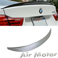 Unpainted BMW F32 428i 438i Performance P-Style Rear Boot Trunk Spoiler Wing