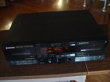 Pioneer CT-W770R Dual Deck Cassette Recorder Tested Great Working Condition