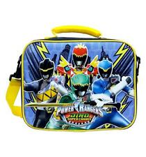 Power Rangers Insulated Lunch Box Bag Licensed New with Tags by Disney