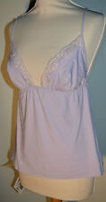 Christies Lilac Night Top / Chemise Made in Italy Medium RRP £72.50