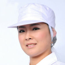 HOT1X PolyCotton Catering Baker Kitchen Cook Chef Hat Costume Snoods Caps White