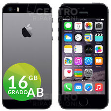 APPLE IPHONE 5S 16GB NERO GRIGIO SIDERALE SPACE GRAY CON ACCESSORI E GARANZIA