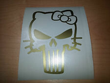 sticker autocollant punisher hello kitty skull crane pirate decal